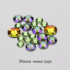 Стразы Swarovski для ногтей, Мини-микс №40 Орхи...