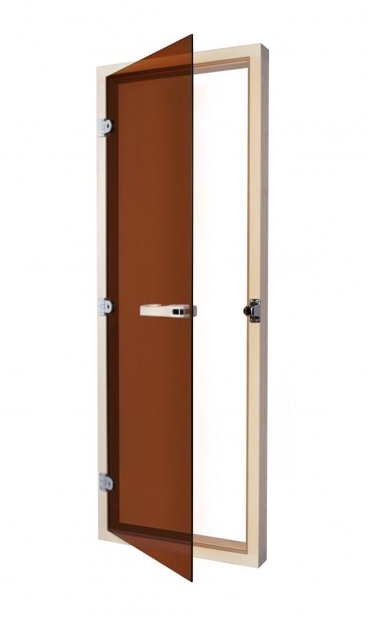 Двери: Дверь SAWO 730-4SGA (7/19, бронза с порогом) раздвижная дверь купить в спб