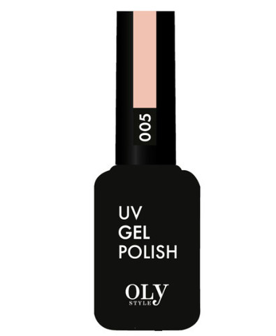 OLYSTYLE Гель-лак д/ногтей тон 005 розово-кремовый