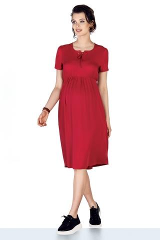 Платье для беременных 10211 красный