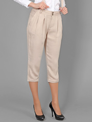 74202 брюки жен. бежевые