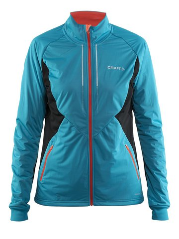 Женская лыжная куртка Craft Storm 2.0 1904257-2659 бирюза