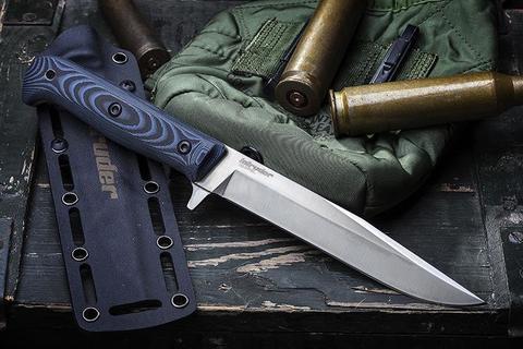 Тактический нож Intruder D2 Satin