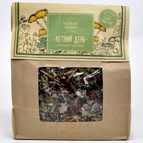 Чай травяной Летний день Чайный дворик, 150г