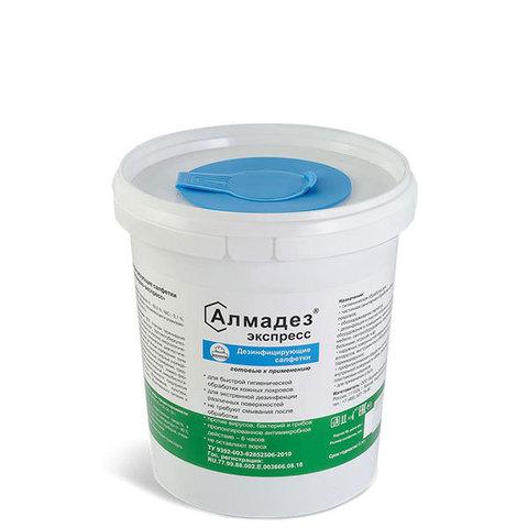 Салфетки дезинфицирующие Алмадез-Экспресс, 12х20 см, 100 шт./уп.