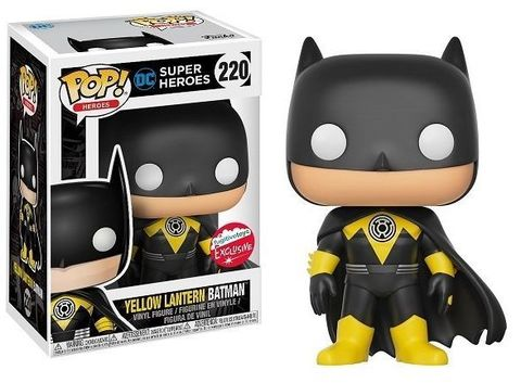 Фигурка Funko Pop! Heroes: Yellow Lantern Batman (Excl. to NYCC / Fugitive Toys)