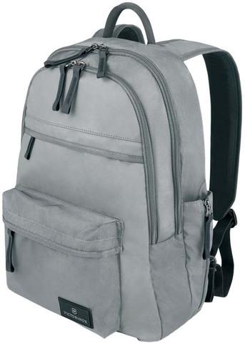 Качественный с гарантией прочный рюкзак серый объёмом 20 л из нейлона Versatek™ с наружным карманом для бутылки или зонтика VICTORINOX Altmont™ 3.0 Standard Backpack 32388404