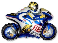 Мотогонщик (синий) F 29
