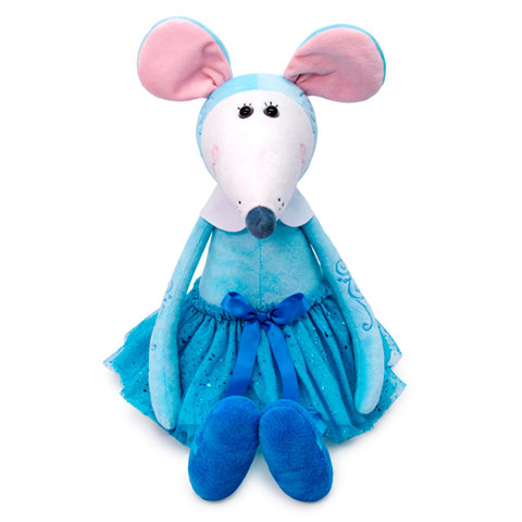Балерина в голубом Лилу  Ms26-023
