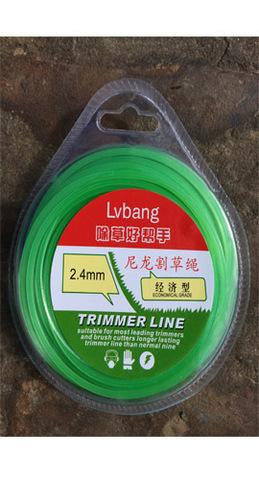 Леска для триммера 2,4мм