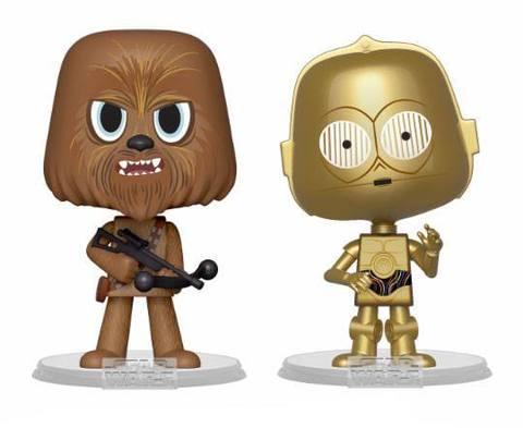 Funko VYNL: Star Wars: Chewbacca & C-3PO (ESB)