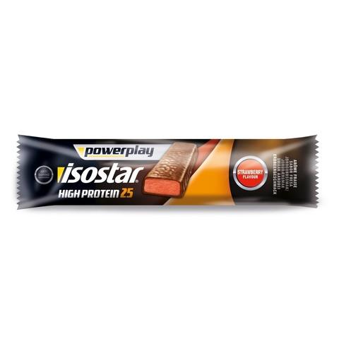 Энергетический батончик Isostar High Protein 25 Recovery Bar Клубника 35 грамм