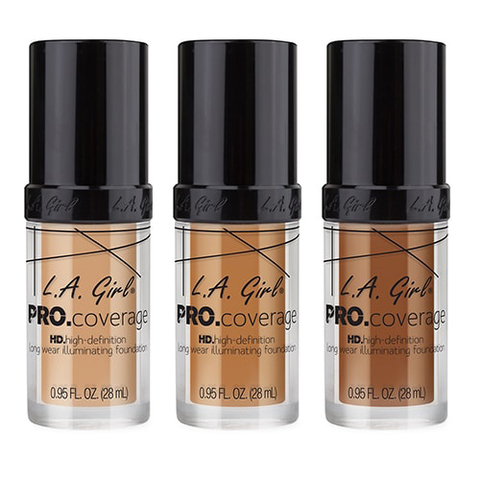 Тональная основа  LA GIRL Pro Coverage Illuminating Foundation
