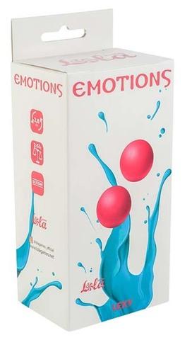 Тяжелые вагинальные шарики без сцепки Emotions Lexy Medium pink (2,8 см; 106 гр)