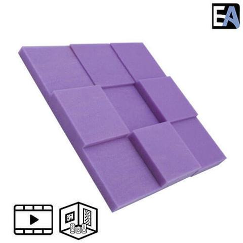 ECHO BLACK Акустический поролон Puzzle Фиолетовый
