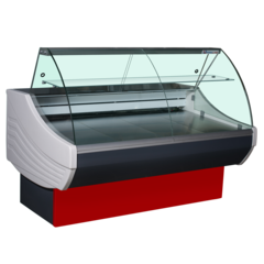 Холодильная витрина SIGMA BASIC 2300V (2330х1090х1230, 9,44 кВт.ч./сут)  °С-6...+6