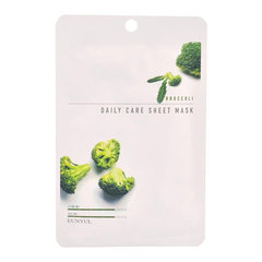 Eunyul Broccoli Daily Care Sheet Mask - Тканевая маска для лица с экстрактом брокколи