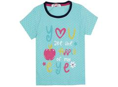 6200-4 футболка детская, бирюзовая
