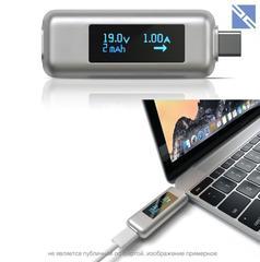 Переходник-предохранитель Satechi USB-C Power Meter темно-серый