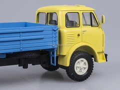 MAZ-500A board yellow-blue 1:43 Nash Avtoprom