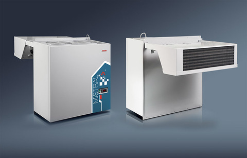 Моноблок Ariada  AMS 107  (Объем ,м3   6 - 16 ),  835х460х800 ,  - 5… +5 °С,   220В,  1,23 кВт