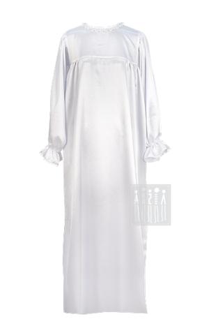 Фото Рубаха женская из креп-сатина рисунок Городецкая роспись женский костюм Весна - Лето