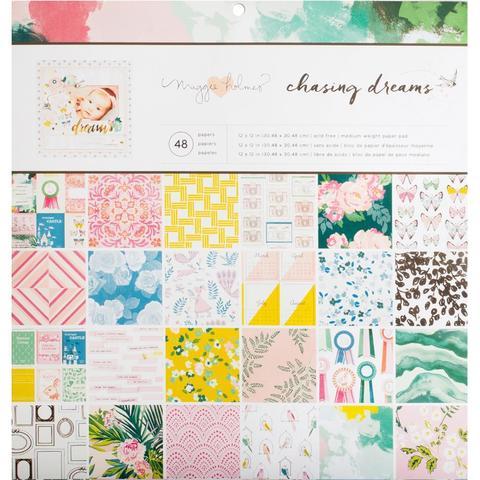 Набор односторонней бумаги 30х30см Chasing Dreams -Crate Paper -48л.