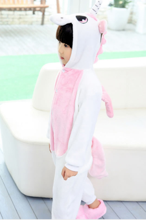 """Детские пижамы кигуруми """"Единорог Нежно - Розовый"""" единорог_детский_нежно-2.jpg"""