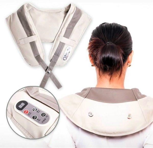 Товары для здоровья Ударный массажер для шеи и плеч Cervical Massage Shawls CervicalMassageShawls.jpeg
