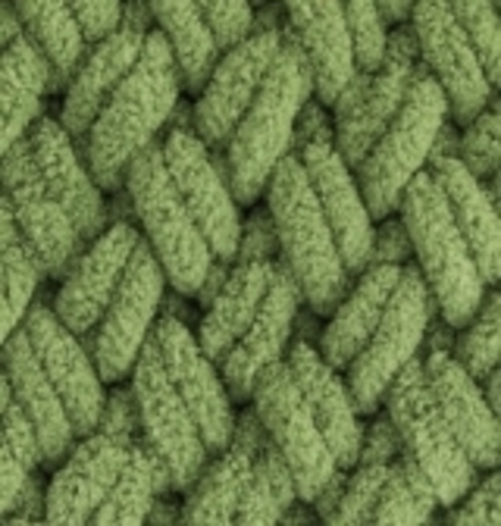 Пряжа Puffy (Alize) 485 Зеленый