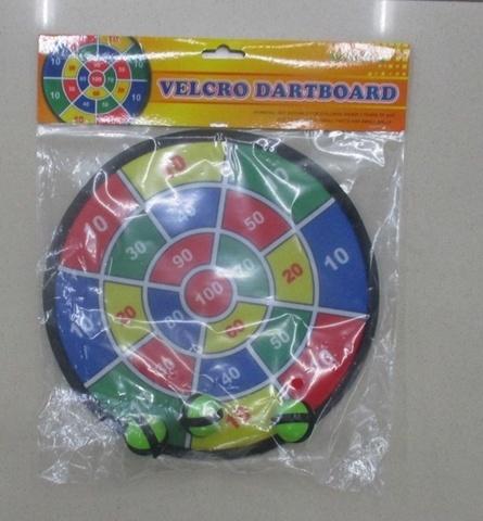 Дартс с шариками - липучками, 25 см (в пакете)