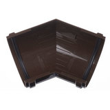 Угловой элемент желоба 135гр ПВХ Docke Standart Шоколад
