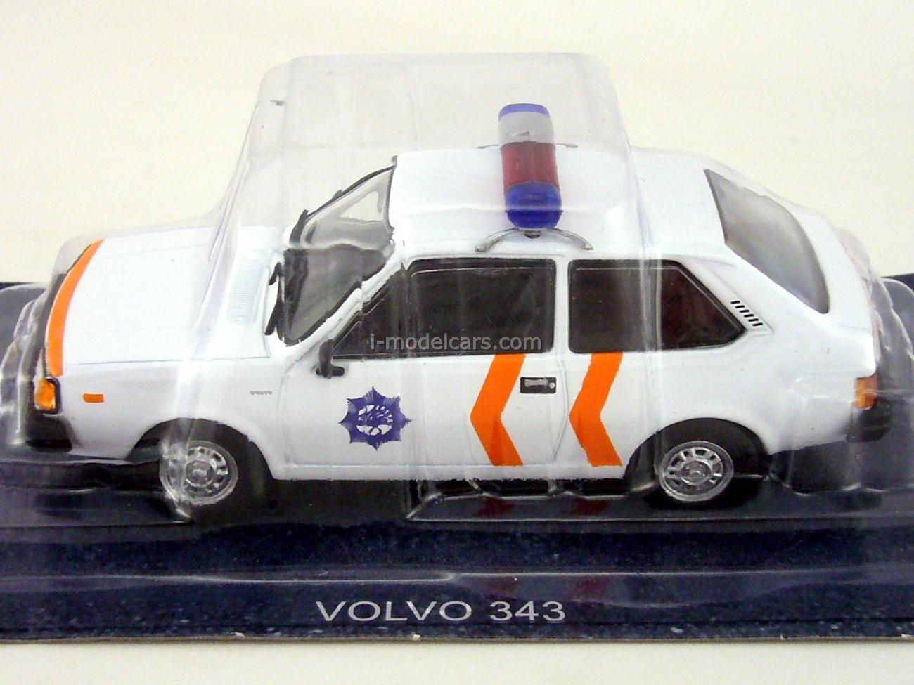 Volvo 343 Holland Police 1:43 DeAgostini World's Police Car #62
