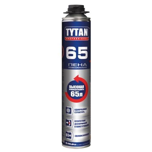 Пена монтажная профессиональная Tytan Professional 65 / Титан Профессионал 65