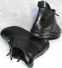 Ботинки весенние женские Evromoda 375-1019 SA Black