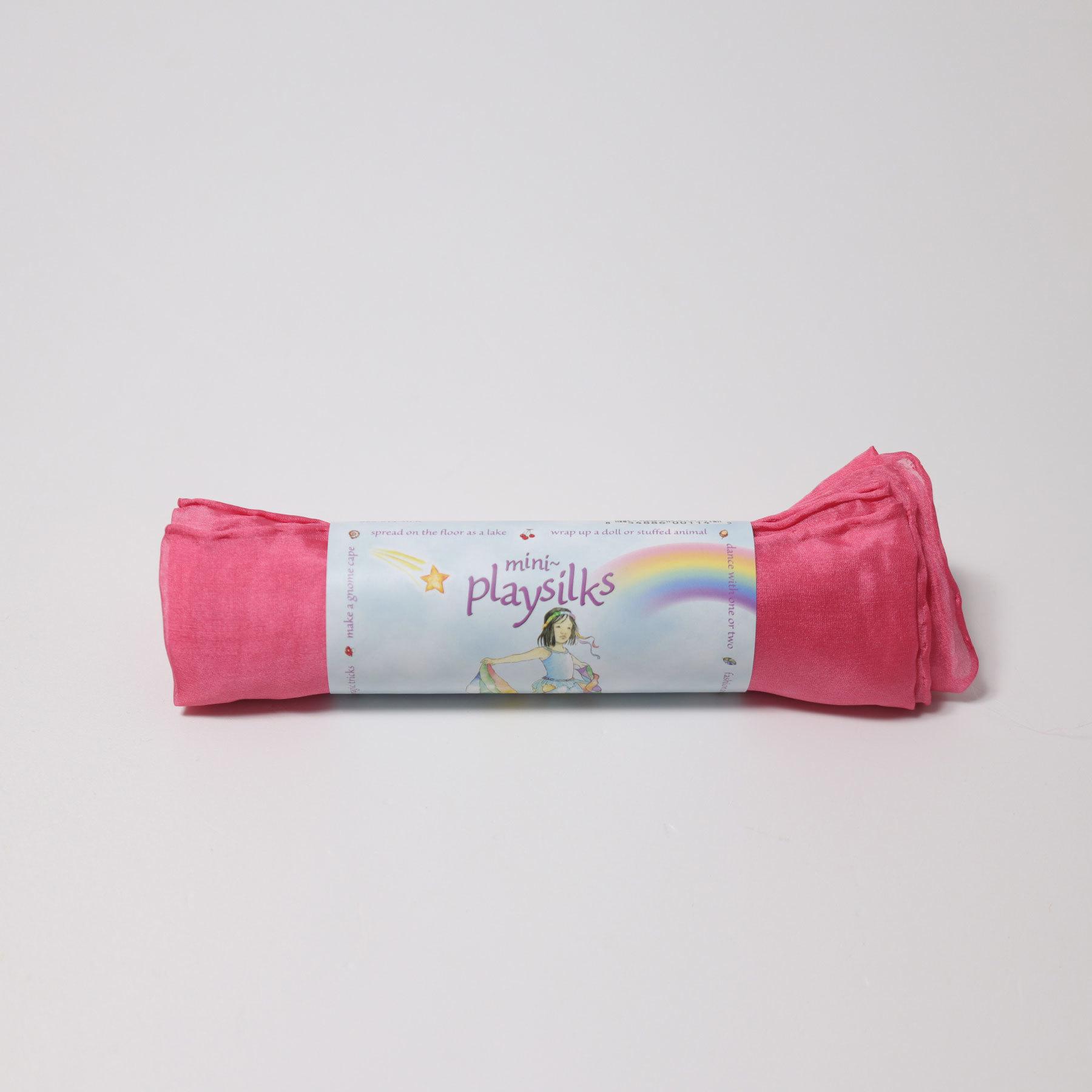 Шёлк игровой 52х52 см розовый (Sarah`s Silks)