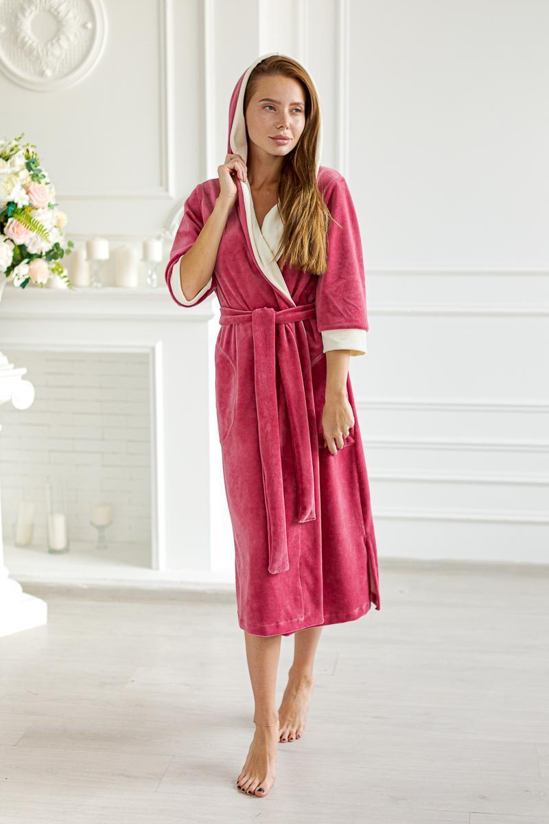 Домашняя одежда Халат с запахом Ника 391 WEHekrsz.jpeg