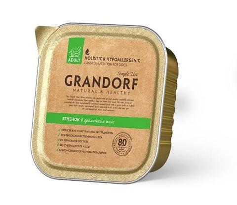 Консервы (ламистеры) Grandorf Canned Lamb Adult All Breeds