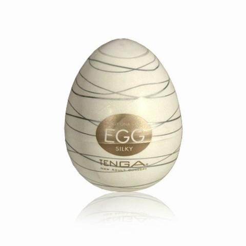 Яйцо мастурбатор Tenga Egg Silky