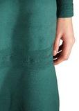 Платье из шерсти. Цвет зеленый/голубой ALBERTA FERRETTI