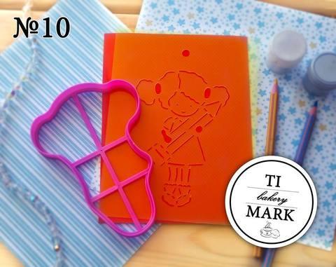 Набор №10 - Девочка (школьница)