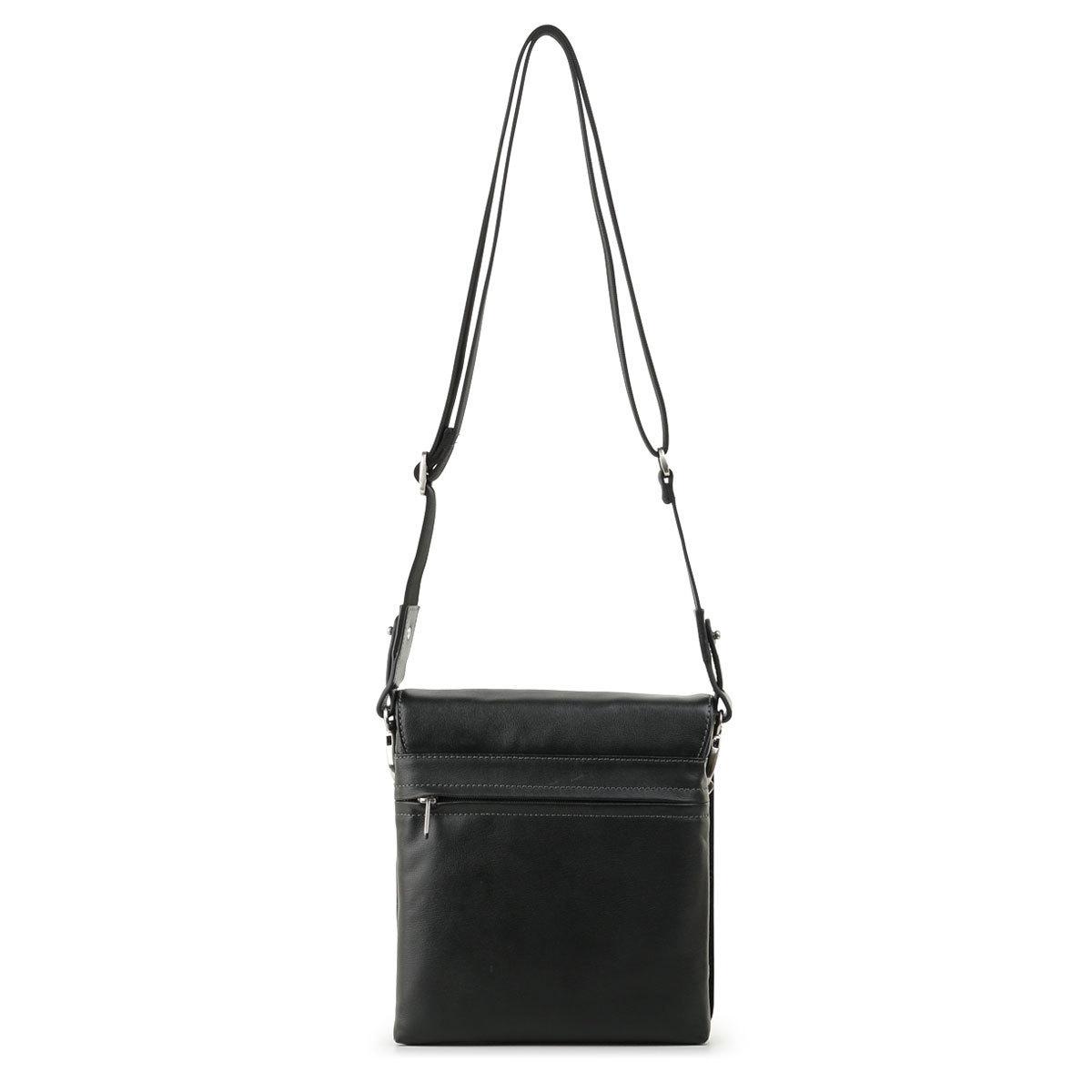 м13598 Fiato  кожа черный  (сумка мужская)