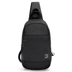 Однолямочный рюкзак ARCTIC HUNTER XB00060 Черный