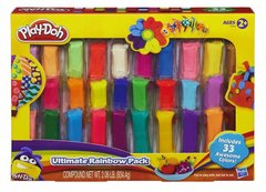 Комплект от пластилинови блокчета Play Doh Rainbow Pack
