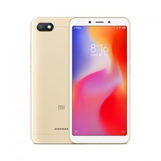 Xiaomi Redmi 6A 2Gb/16Gb Gold (Global Version)