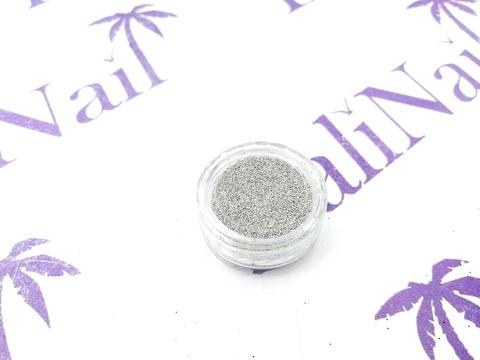 TNL Бульонки супер мелкие - серебро - 0,2 мм, 3 гр