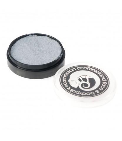 Аквагрим Cameleon 10 гр перламутровый серебряный