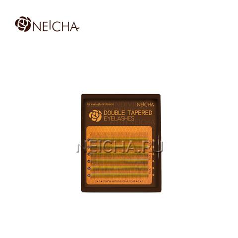 Ресницы NEICHA DOUBLE TAPERED 6 линий MIX