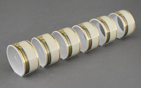 Набор колец для салфеток 6 штук Сабина Leander