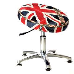 Танцующий Стул для школьника регулируемый по высоте британский флаг